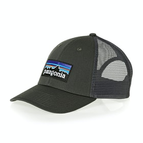 Casquette Patagonia P-6 Logo Lopro Trucker - Forge Grey W/forge Grey