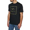 RVCA Fill All The Way Short Sleeve T-Shirt - Black
