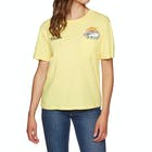 Volcom Pocket Dial Ladies Short Sleeve T-Shirt