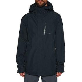 Volcom L Gore-tex Snow Jacket - Black