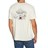 Rip Curl Lazy Skull Short Sleeve T-Shirt - Light Gray