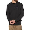 Sweat Patagonia P-6 Label Uprisal Crew - Black