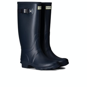 Hunter Field Huntress Womens Wellies - Navy