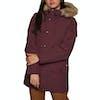 Carhartt Anchorage Parka Womens Jacket - Mulberry Black