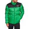 North Face Nuptse III Daunenjacke - Primary Green TNF Black