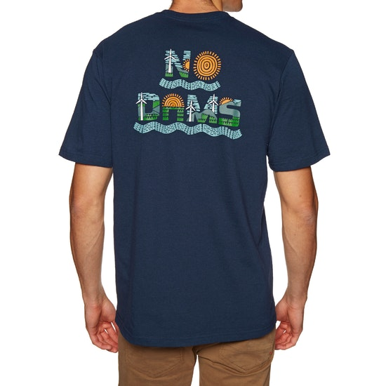 Patagonia No Dams Responsibilitee Short Sleeve T-Shirt