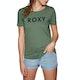 T-Shirt à Manche Courte Femme Roxy Red Sunset A