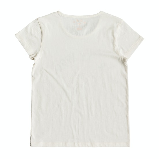 Roxy Roses In The Rain Mädchen Kurzarm-T-Shirt