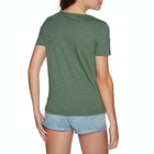 Roxy Red Sunset A Ladies Short Sleeve T-Shirt