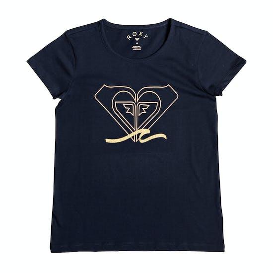 Roxy Endless Music Mädchen Kurzarm-T-Shirt