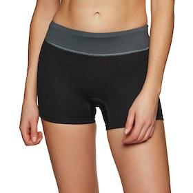 Xcel 3/1 mm Paddleshort Womens Wetsuit Shorts - Black Grey