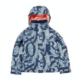 Roxy Jetty Girls Snow Jacket - Crown Blue