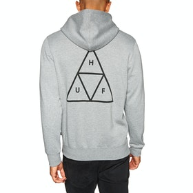 Pullover à Capuche Huf Essentials Triple Triangle - Heather Grey