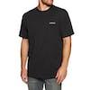 Carhartt Script Embroidery Short Sleeve T-Shirt - Black White