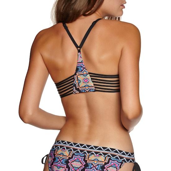 Seafolly Sun Temple Multi Rouleau Bralette Bikini Top