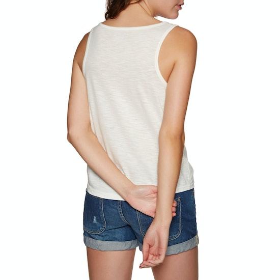 Roxy Red Lines B Ladies Tank Vest