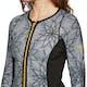 Roxy Pop Surf Scallop 1mm Front Zip Wetsuit Jacket