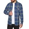 Volcom Caden Plaid Shirt - Matured Blue