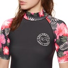 Billabong Flower Short Sleeve Ladies Rash Vest