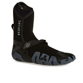 Xcel Drylock 5mm Split Toe Wetsuit Boots - Black Grey