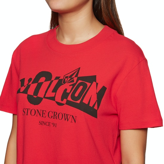 Volcom Stone Grown Ladies Short Sleeve T-Shirt