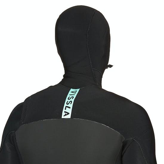 Vissla 7 Seas 5/4mm Chest Zip Hooded Wetsuit