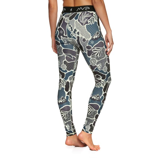 Eivy Icecold Tights Landscape L Womens Base Layer Leggings