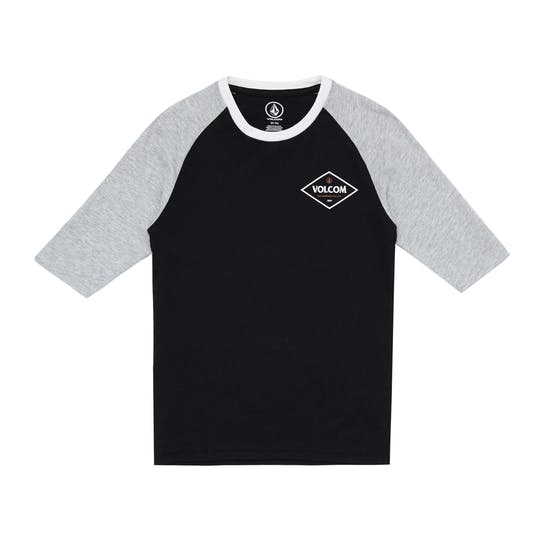Volcom Center 3/4 Boys Long Sleeve T-Shirt
