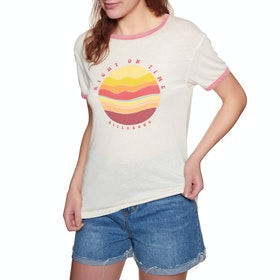 Billabong Ringer Womens Short Sleeve T-Shirt - Cool Wip