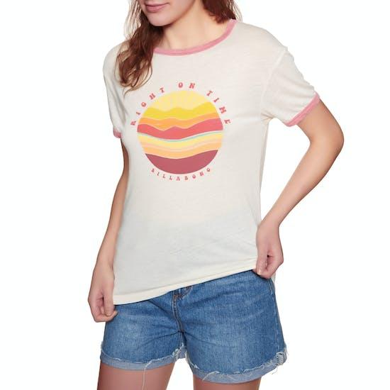 Billabong Ringer Ladies Short Sleeve T-Shirt