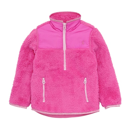 Joules Elena Half Zip Girls Fleece