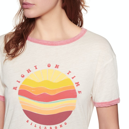 Billabong Ringer Womens Short Sleeve T-Shirt