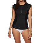 SWELL Short Sleeve 1/2 Zip Ladies Rash Vest