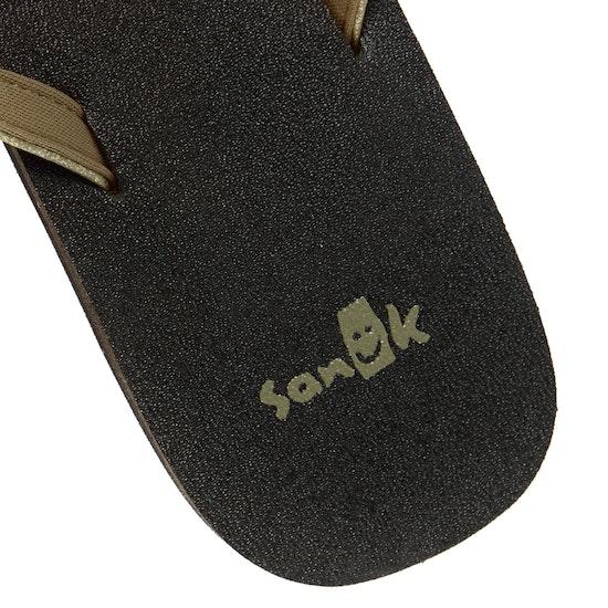 Sanuk Yoga Joy Metallic Womens Sandals