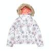 Roxy Jet Ski Girls Snow Jacket - Bright White Snowflakes