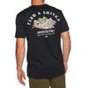 Quiksilver Fish And Chicks Short Sleeve T-Shirt - Black