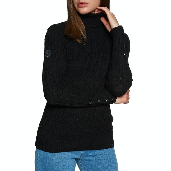 Knits Mujer Superdry Croyde Roll Neck Cable Knit
