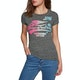 Camiseta de manga corta Mujer Superdry High Flyers Fade Dot Entry