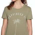 Billabong Happiness Is Ladies Short Sleeve T-Shirt