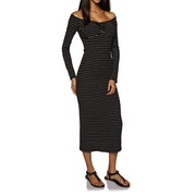 Amuse Society Wide Awake Long Sleeve Dress