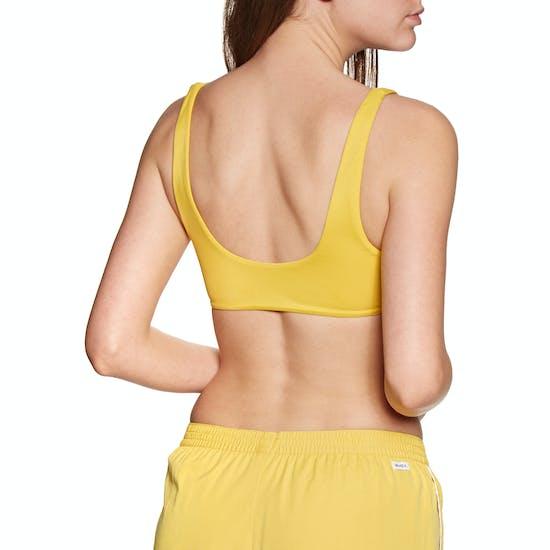 RVCA Solid Crop Bikini Top