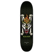 Powell Killian Wolf 8 Inch Skateboard Deck