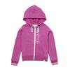 Animal College Girls Zip Hoody - Rosewood Pink Marl
