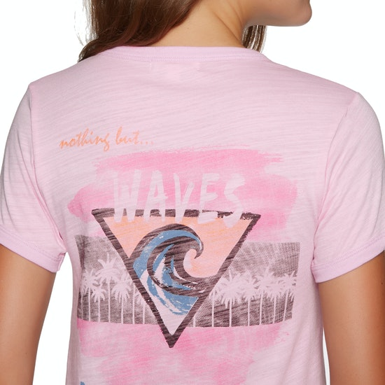 Billabong Roller Rink Ringer Ladies Short Sleeve T-Shirt