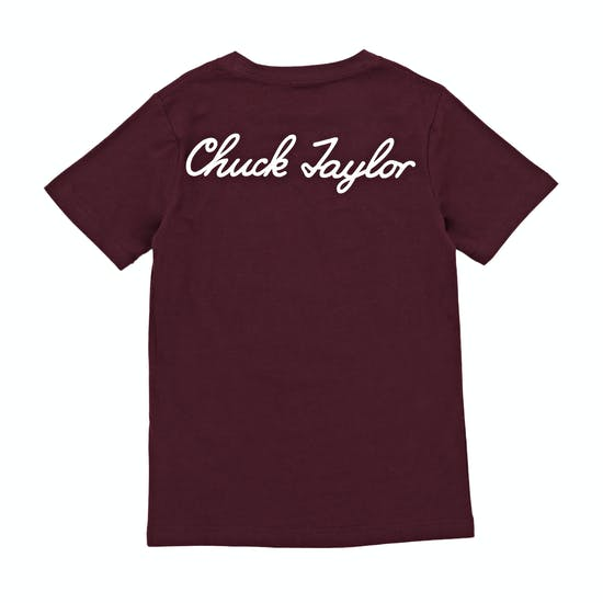 T-Shirt a Manica Corta Converse Chuck Taylor Script