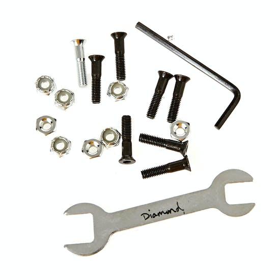 Diamond Supply Co Nyjah Huston Pro Hardware 7/8 Inch Skateboard Bolt
