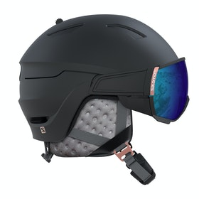 Salomon Mirage Womens Ski Helmet - Black/rose