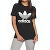T-Shirt à Manche Courte Femme Adidas Originals Trefoil - Black White