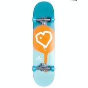Blueprint Spray Heart 7.875 Complete Kinderen Skateboard