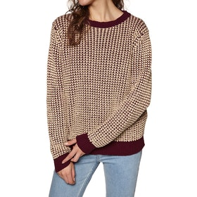 Knits Mujer SWELL Walbrook Contrast - Rust